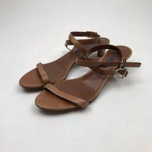 Ralph Lauren Purple Label brown leather Open Toe